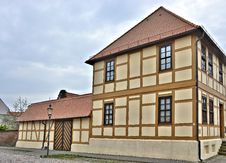Free Renovated Half-timbered House Royalty Free Stock Image - 30708616