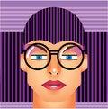 Free Woman Cyborg Head Stock Photography - 30712222