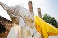 Free Reclining Buddha In Wat Yai Chai Mongkol, Ayutthaya, Thailand Royalty Free Stock Image - 30717156