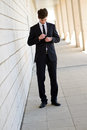 Free Attractive Young Businessman In Urban Background Royalty Free Stock Photography - 30719127