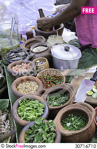 Free Prepare Materials For Salad Stock Photo - 30716710