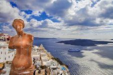 Free Beautiful Santorini Royalty Free Stock Images - 30711729