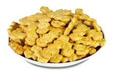 Free Cookies On The Saucer Stock Photo - 30712420