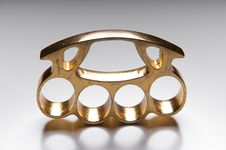 Free Metal Knuckle Duster Stock Image - 30713261