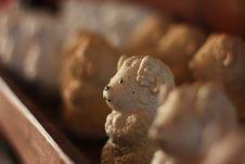Handycraft Sheep Doll Stock Image