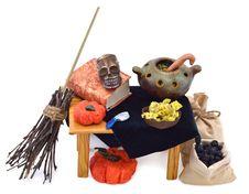 Free Halloween Preparations Stock Photography - 30715512