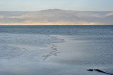 Free Dead Sea Surface At Sunset. Royalty Free Stock Photos - 30718738