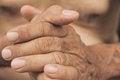 Free Old Man Hand Stock Photos - 30724623