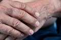 Free Old Man Hand Royalty Free Stock Photography - 30724667