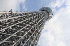 Free Tokyo Skytree Royalty Free Stock Photos - 30721068