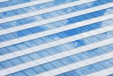 Free Windows Of An Office With Reflection Stock Photography - 30725752