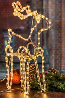 Free Reindeer Decoration Stock Photos - 30728893