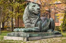 Bulgarian Lion - Sofia, Bulgaria Royalty Free Stock Photography