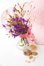 Free Still Life With Flowers And A Hat Stock Photos - 30731443