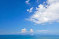 Free Blue Sky And Ocean Royalty Free Stock Photos - 30738418
