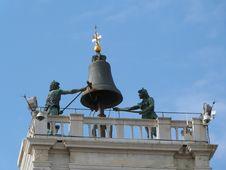 Free Venice, The Clock Tower Royalty Free Stock Photo - 30730095