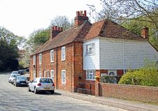 Free Red Brick Cottages In Rural Kent Royalty Free Stock Image - 30732136