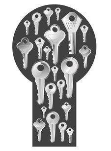 Free Keys And Lock Stock Photos - 30732983
