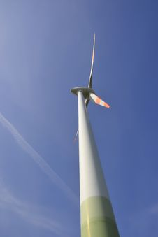 Free Close-up Of A Wind Turbine Royalty Free Stock Photo - 30734745