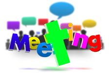Free Meeting 3D Stock Photos - 30736783