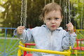 Free Child On Swing Stock Photography - 30740402