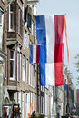 Free Dutch Flag On Queens Day 2013 Royalty Free Stock Photography - 30745247