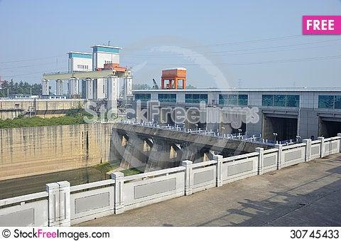 Free Gezhou Dam Stock Photos - 30745433