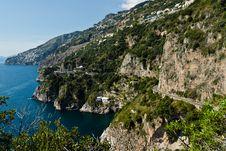 Amalfi-Coast, Italy Royalty Free Stock Photography