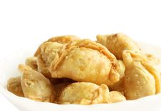 Curry Puff, Thai Style Royalty Free Stock Images
