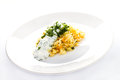 Free White Rice With Garlic Sauce On A Plate Royalty Free Stock Photography - 30750747