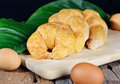 Free Fresh French Croissant Stock Photography - 30757582