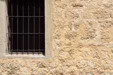 Free Window With Grille Royalty Free Stock Photos - 30751408