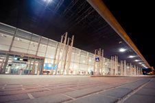 Free Night Scene Of Lviv Airport Stock Images - 30751784