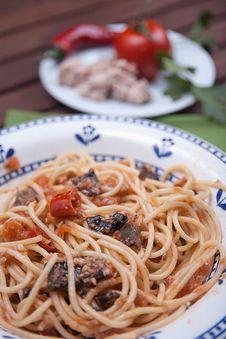 Free Spaghetti Carrettiera Royalty Free Stock Photography - 30752367