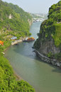 Free Beautiful Tributary Of Yangtze River Stock Photography - 30761742