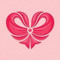 Free Bow-heart Stock Photography - 30769862