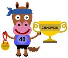 Free Animal Marathon Champion Stock Photography - 30761272