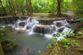 Free Erawan Waterfall III Royalty Free Stock Photography - 30773907