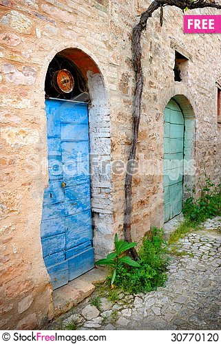 Free Colors Of Italy, Umbria Stock Photo - 30770120