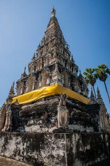 Free Wat Chedi Lium, Wiang Kumkam,Chiangmai Royalty Free Stock Photography - 30770277