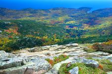 Free Indian Summer, Acadia Park, Maine Stock Image - 30770861