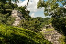 Free The Ancient Mayan Temple In Palenque Stock Photo - 30771160