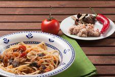 Free Spaghetti Carrettiera Royalty Free Stock Photography - 30771317