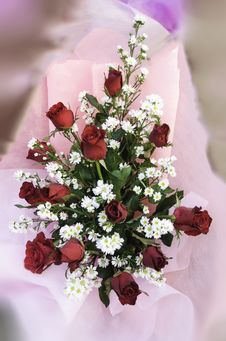 Free Bouquet Of Roses Stock Image - 30771971