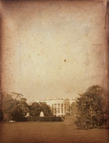 Free Vintage White House Stock Photography - 30773072