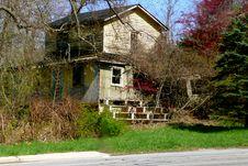 Free Abandoned House Royalty Free Stock Photo - 30773245