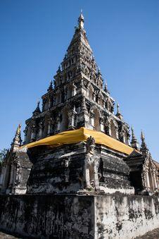 Free Wat Chedi Lium, Wiang Kumkam,Chiangmai Royalty Free Stock Photos - 30774198