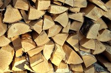 Free Firewood Royalty Free Stock Photography - 30775307