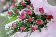 Free Bouquet Of Roses Royalty Free Stock Photography - 30775527