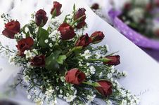 Free Bouquet Of Roses Royalty Free Stock Photos - 30775548